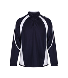 NAVY / WHITE REVERSIBLE SPORTS TOP
