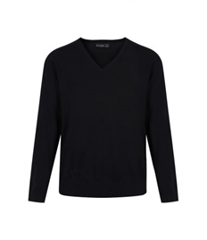 WHITBY BLACK KNITTED JUMPER