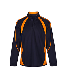 NAVY / AMBER REVERSIBLE SPORTS TOP
