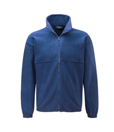NAVY FLEECE FOR PE WITH EMBROIDERED SCHOOL LOGO (FREE DELIVERY)