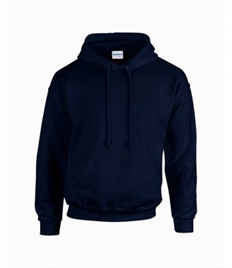 NAVY SPORTS HOODIE WITH SCHOOL EMBROIDERED LOGO